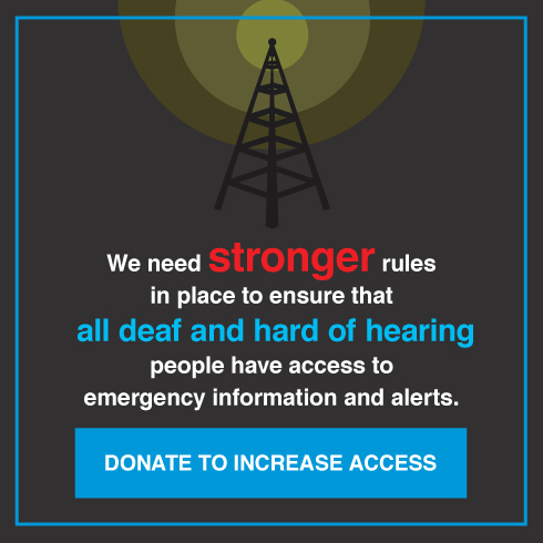 Today anyone should be able to text 9-1-1. However, less than 3% of the 911 call centers in America can receive text. Donate to increase access.